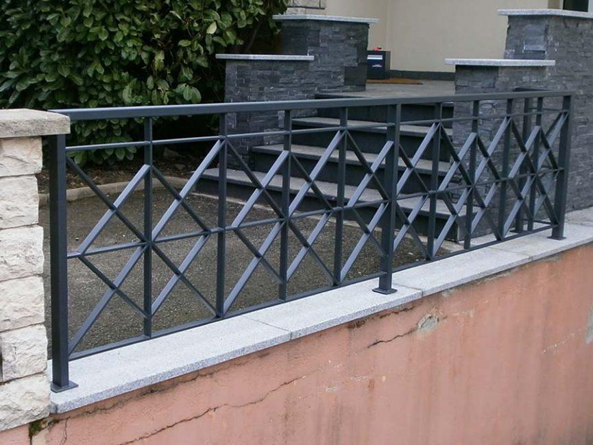 clôture en fer galvanisée à chaud