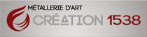 Ferronnerie d'Art Création 1538 – Montbéliard – Franche-comté Logo