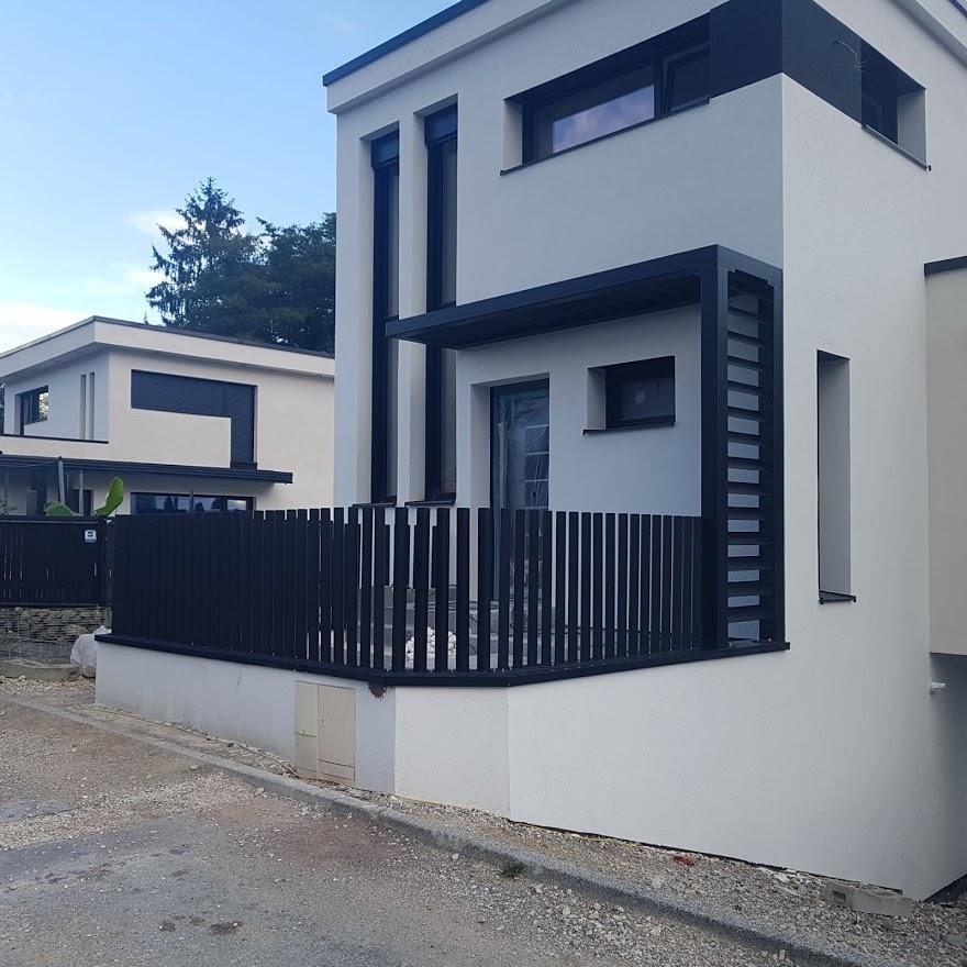 clôture et marquise style contemporain