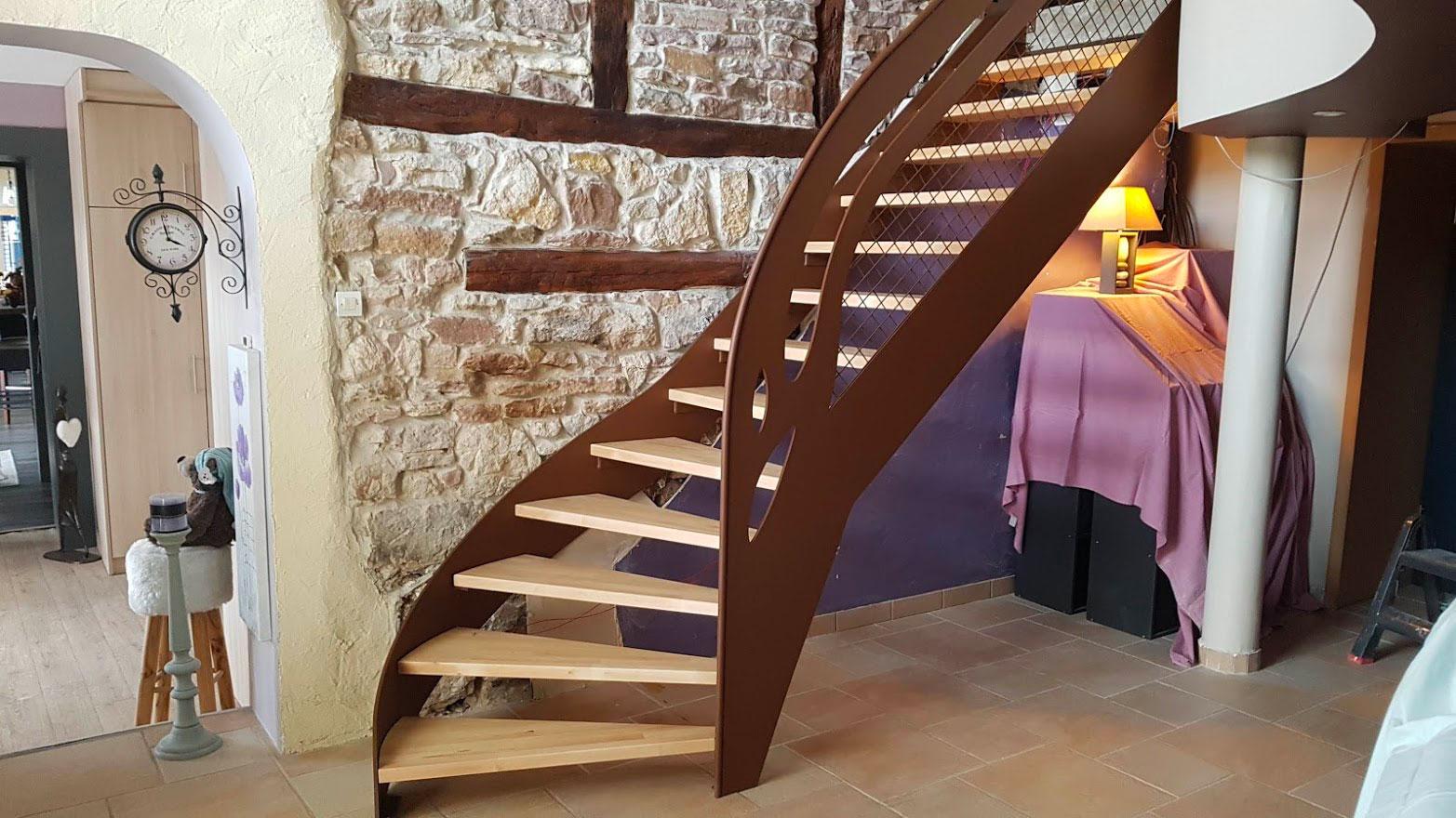 "gardecorps escaliers décor ""cinema"""